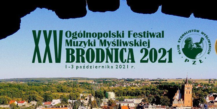 XXV Ogólnopolski Festiwal Muzyki Myśliwskiej w Brodnicy już za nami